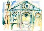 Church Façade Pienza